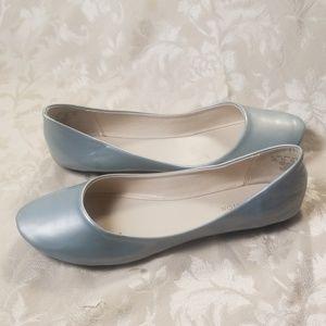 Covington Sky Blue Ballerina Flats
